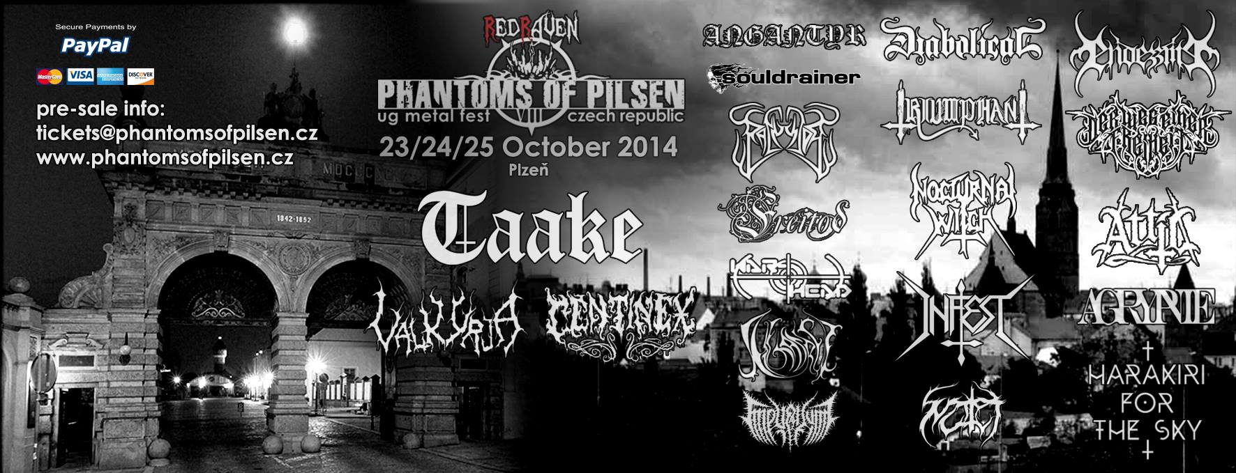 Phantoms of pilzen